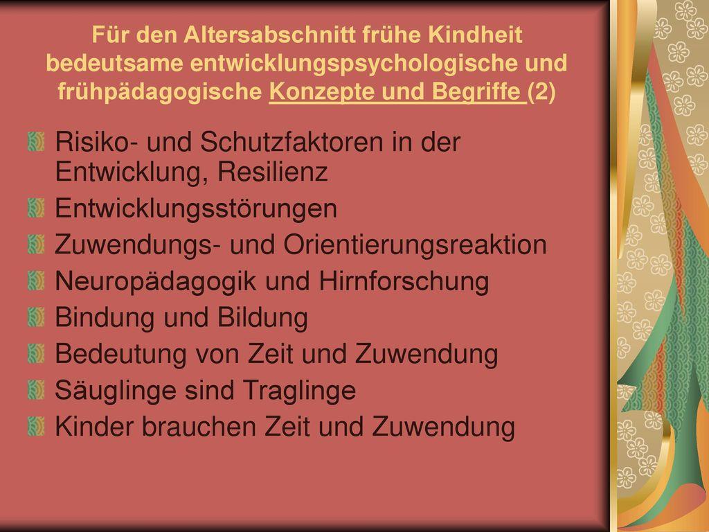 Risiko- und Schutzfaktoren in der Entwicklung, Resilienz
