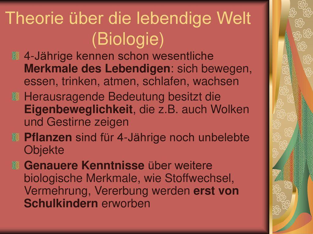 Theorie über die lebendige Welt (Biologie)