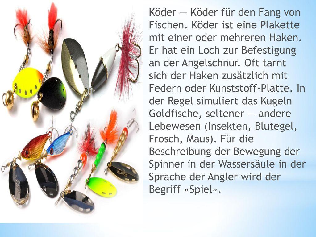 Köder — Köder für den Fang von Fischen
