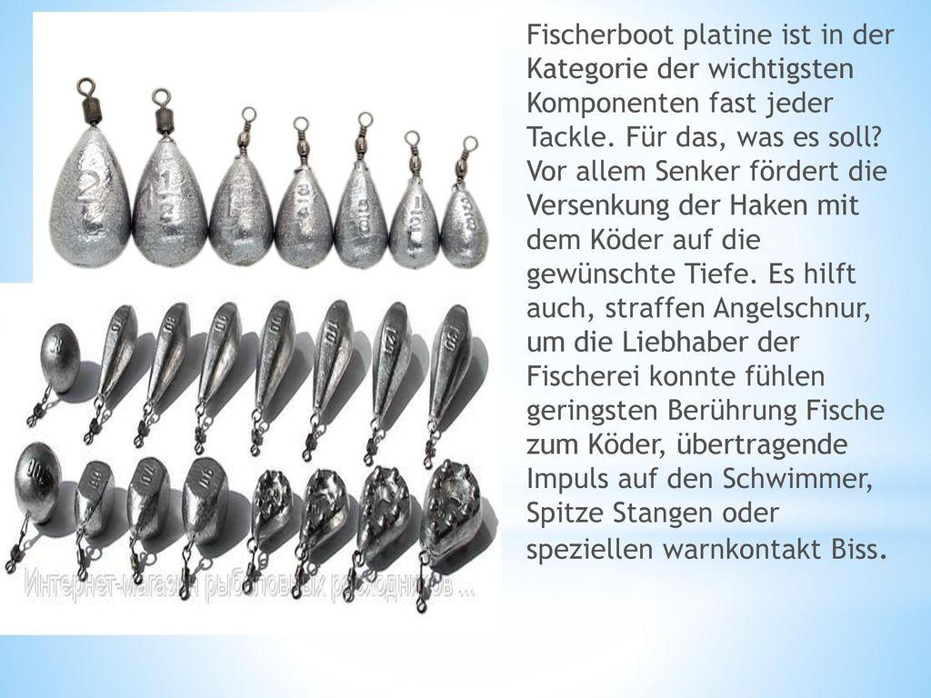 Fischerboot platine ist in der Kategorie der wichtigsten Komponenten fast jeder Tackle.