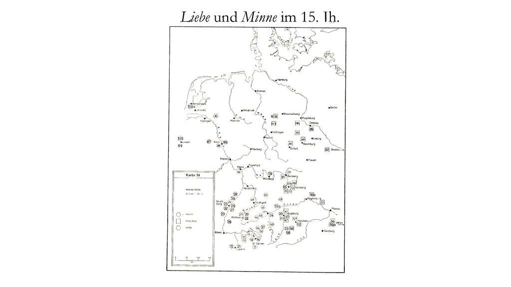 Liebe und Minne im 15. Jh.