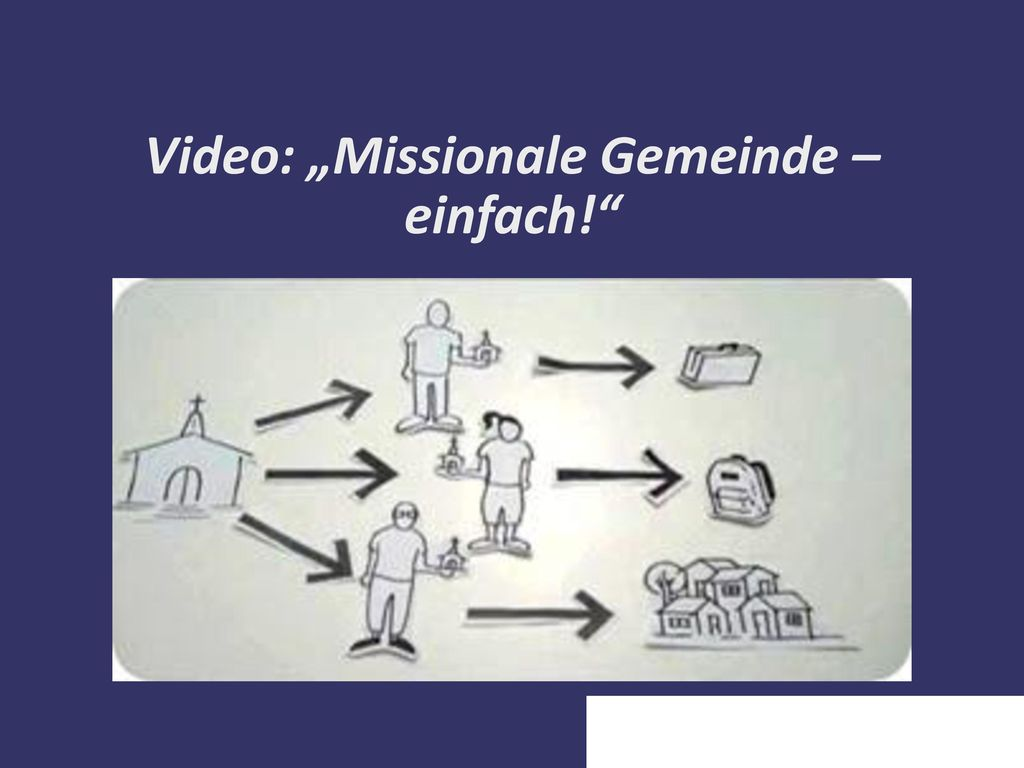 """Video: """"Missionale Gemeinde – einfach!"""