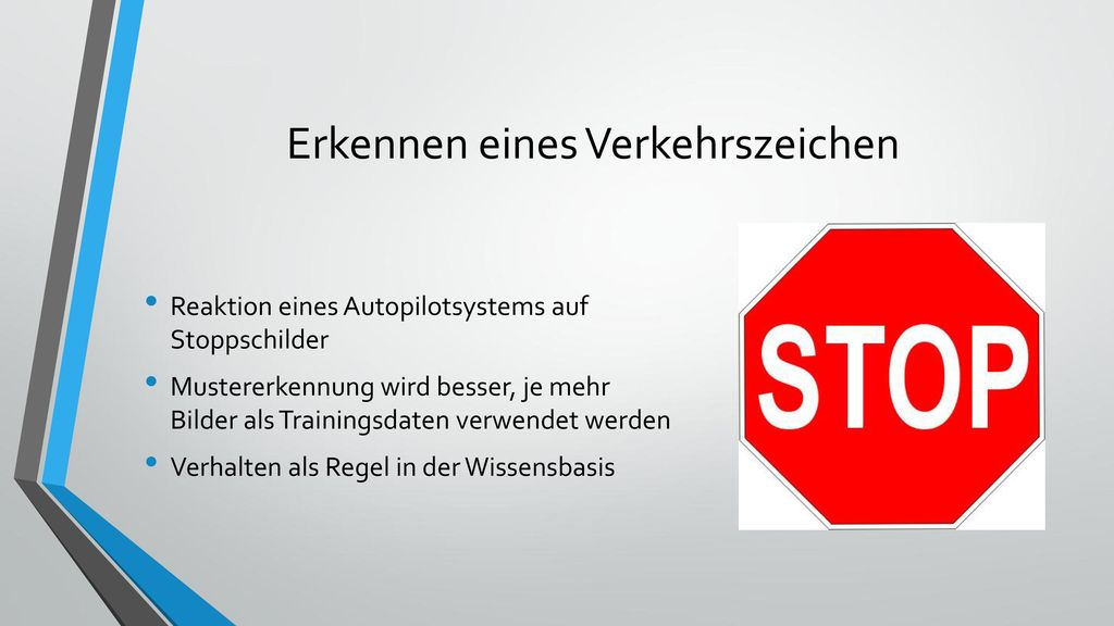 Erkennen eines Verkehrszeichen