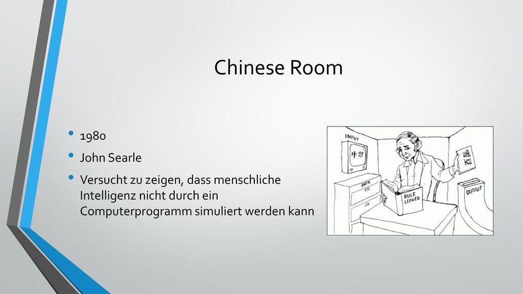 Chinese Room 1980 John Searle
