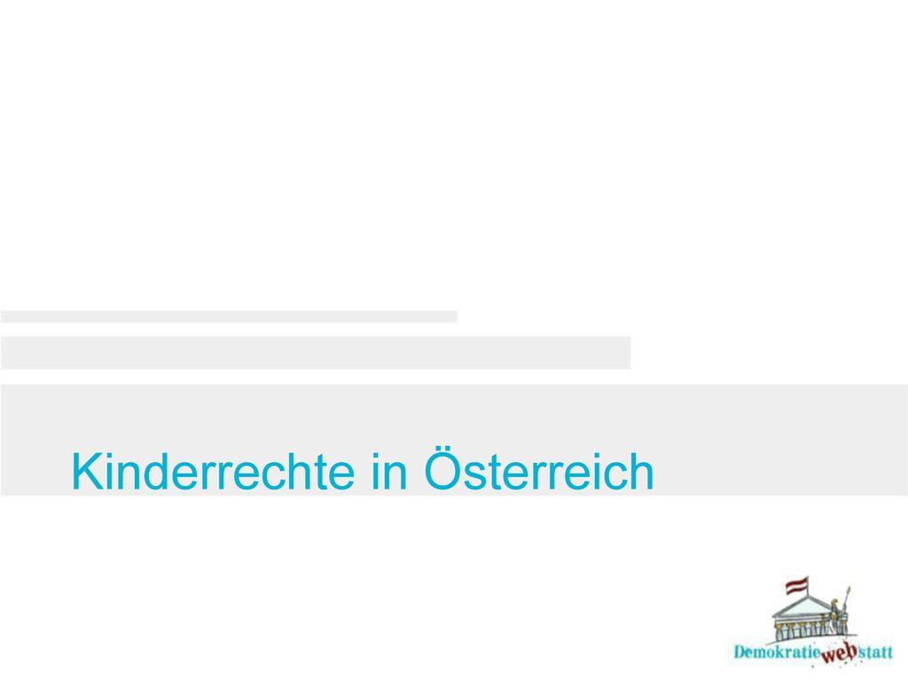 Kinderrechte in Österreich