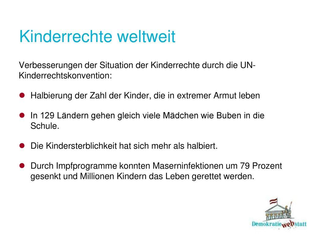 Kinderrechte weltweit