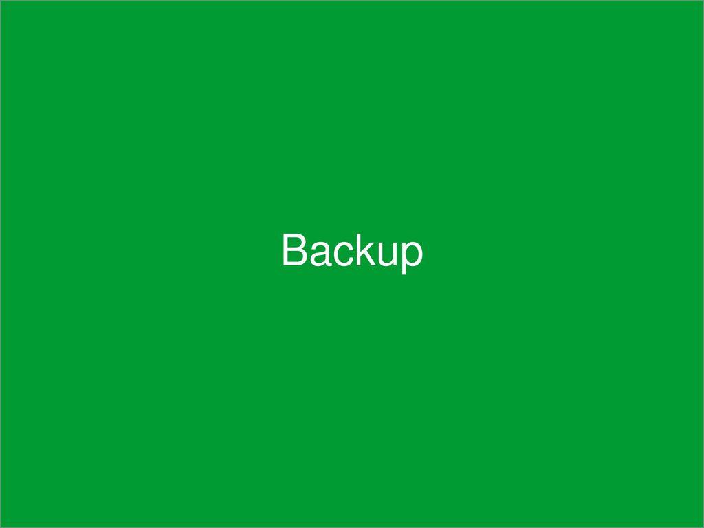 Backup Backup Fachschulung TwoTrust Vario, Februar 2015