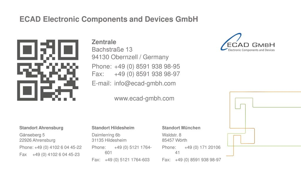 ECAD Electronic Components and Devices GmbH