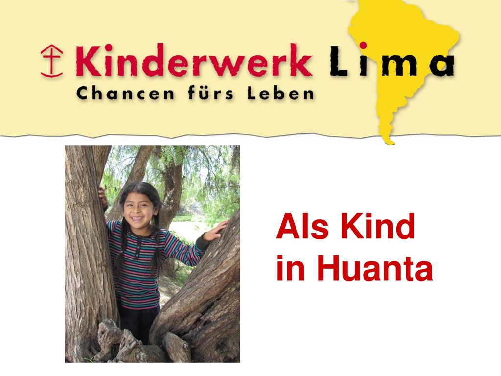 Als Kind in Huanta