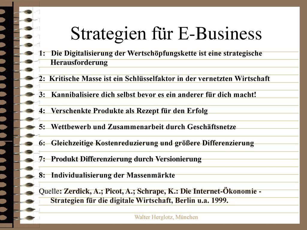 Strategien für E-Business