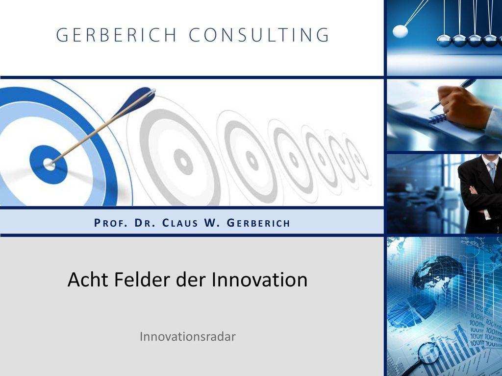 Acht Felder der Innovation