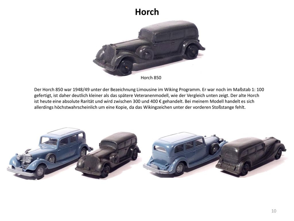 Horch Horch 850.
