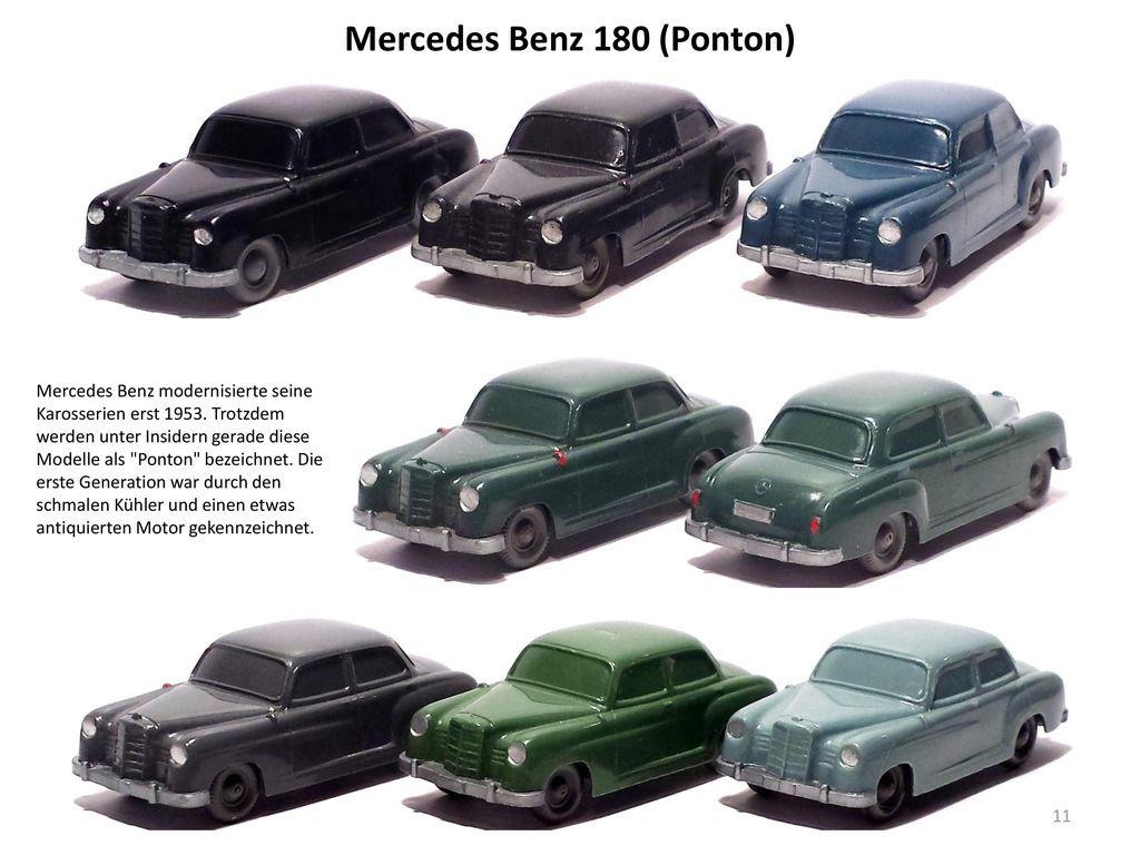 Mercedes Benz 180 (Ponton)