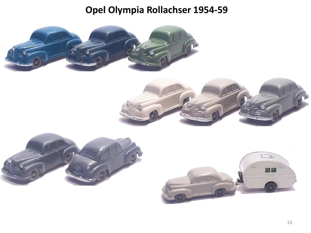 Opel Olympia Rollachser 1954-59