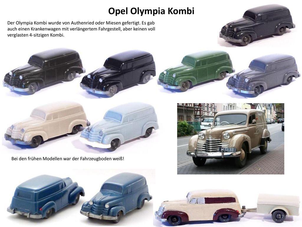 Opel Olympia Kombi