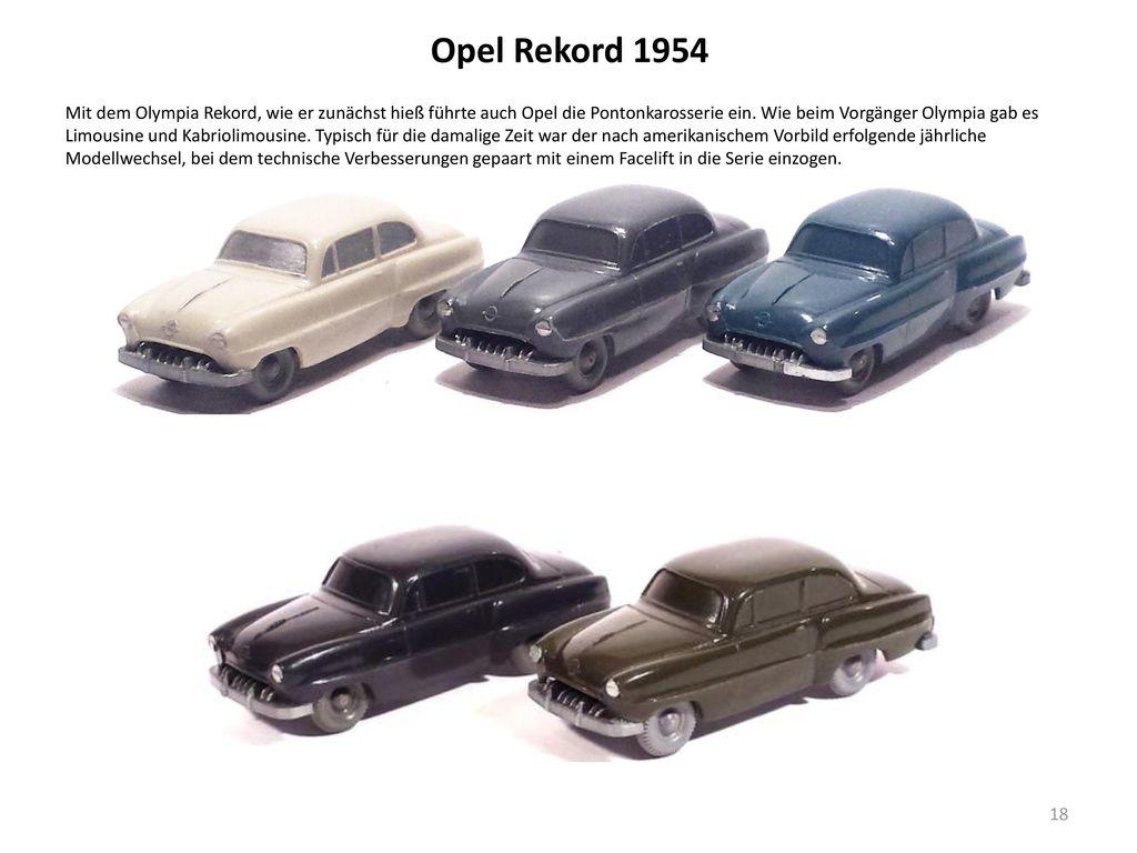 Opel Rekord 1954