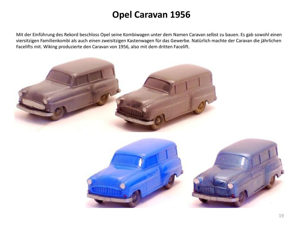 Opel Caravan 1956