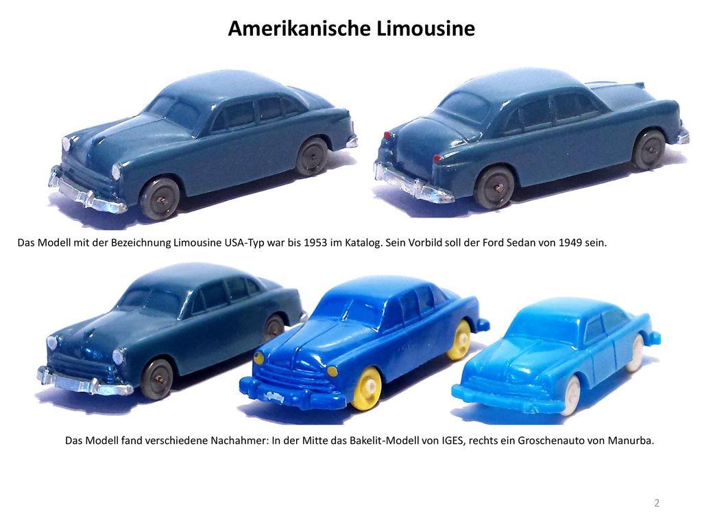Amerikanische Limousine