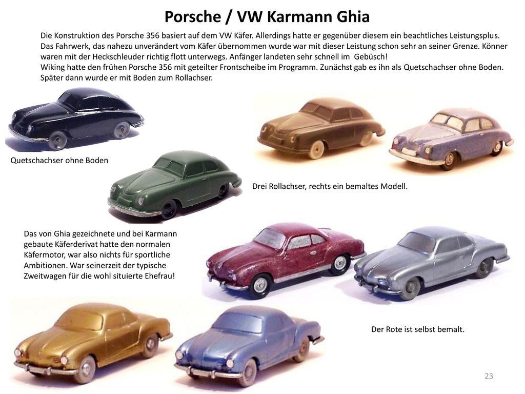 Porsche / VW Karmann Ghia