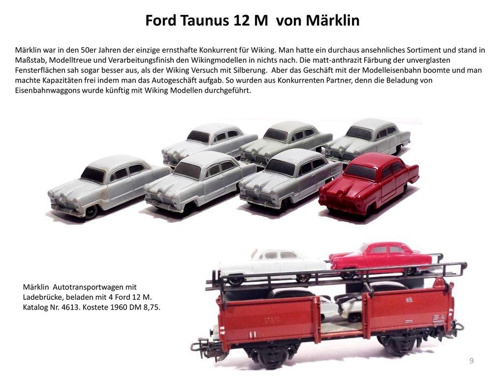 Ford Taunus 12 M von Märklin