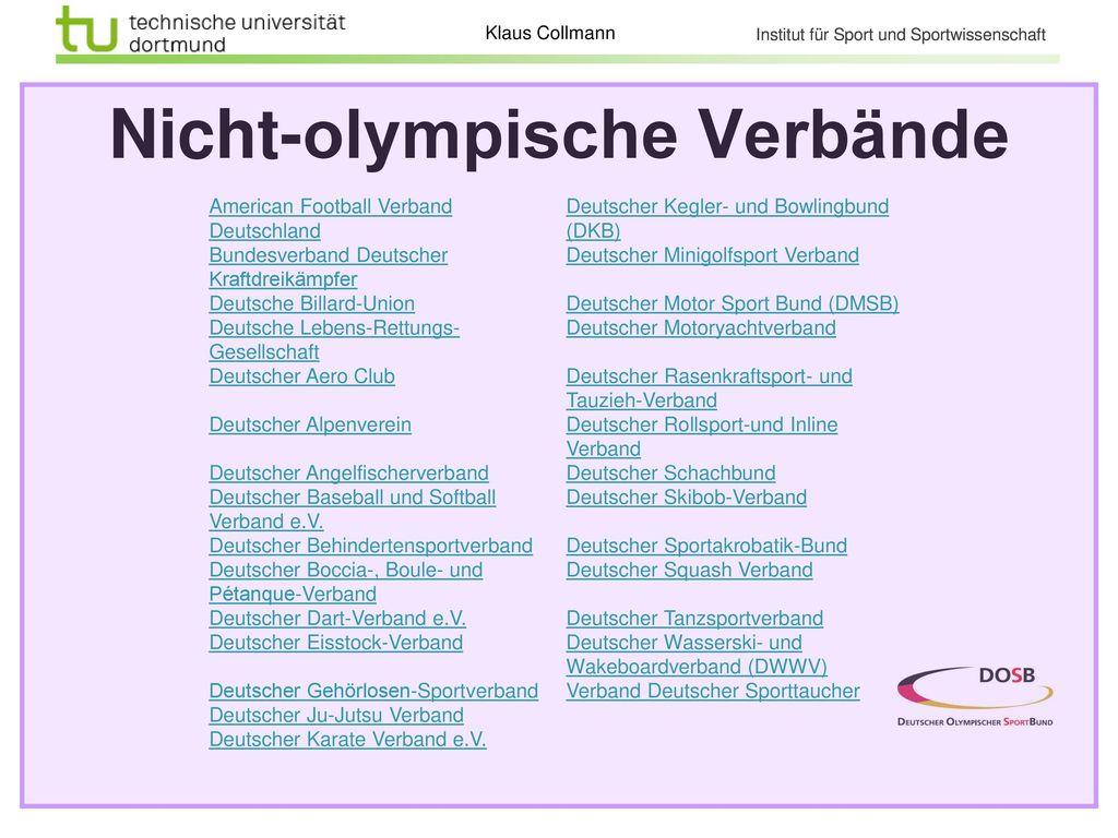 Olympische Verbände Deutscher Judo-Bund Bund Deutscher Radfahrer