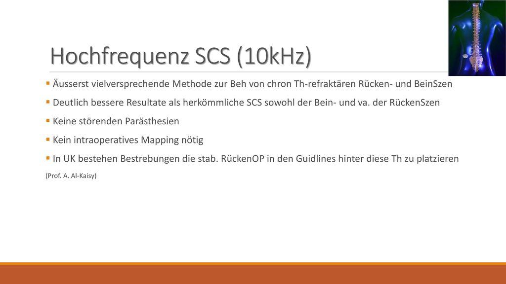 Hochfrequenz SCS (10kHz)
