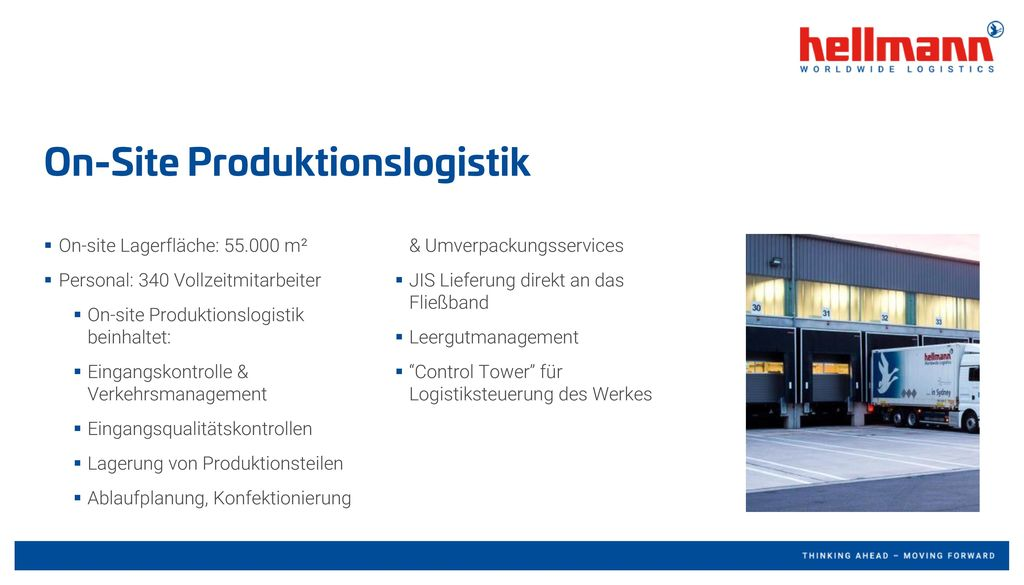 On-Site Produktionslogistik