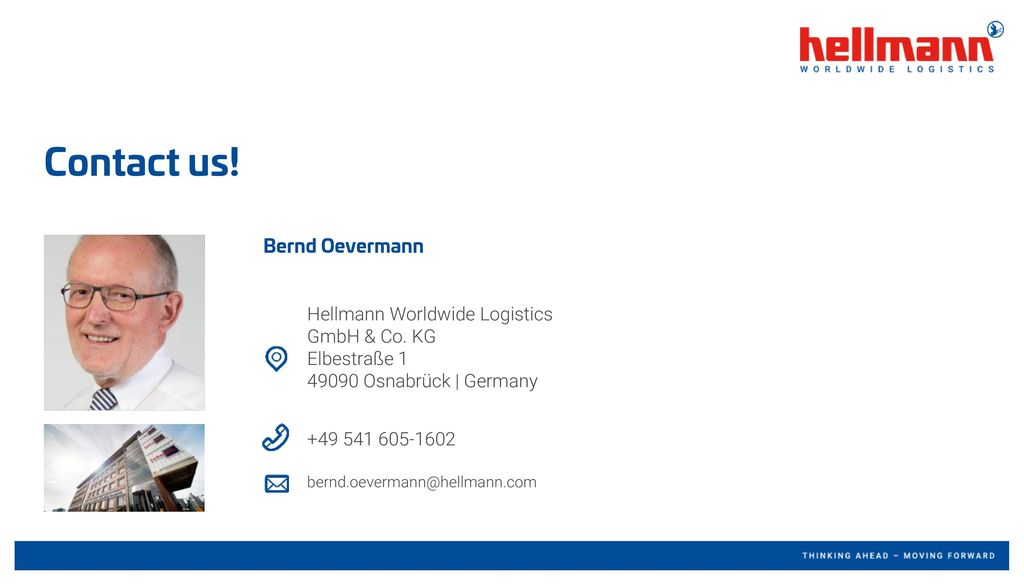 Contact us! Bernd Oevermann
