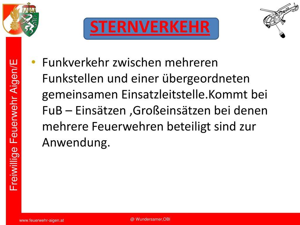 Funkschulung 2011 STERNVERKEHR.