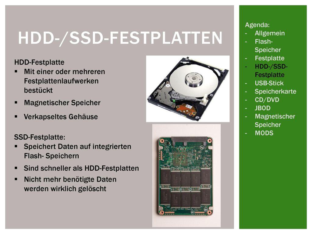 HDD-/SSD-Festplatten