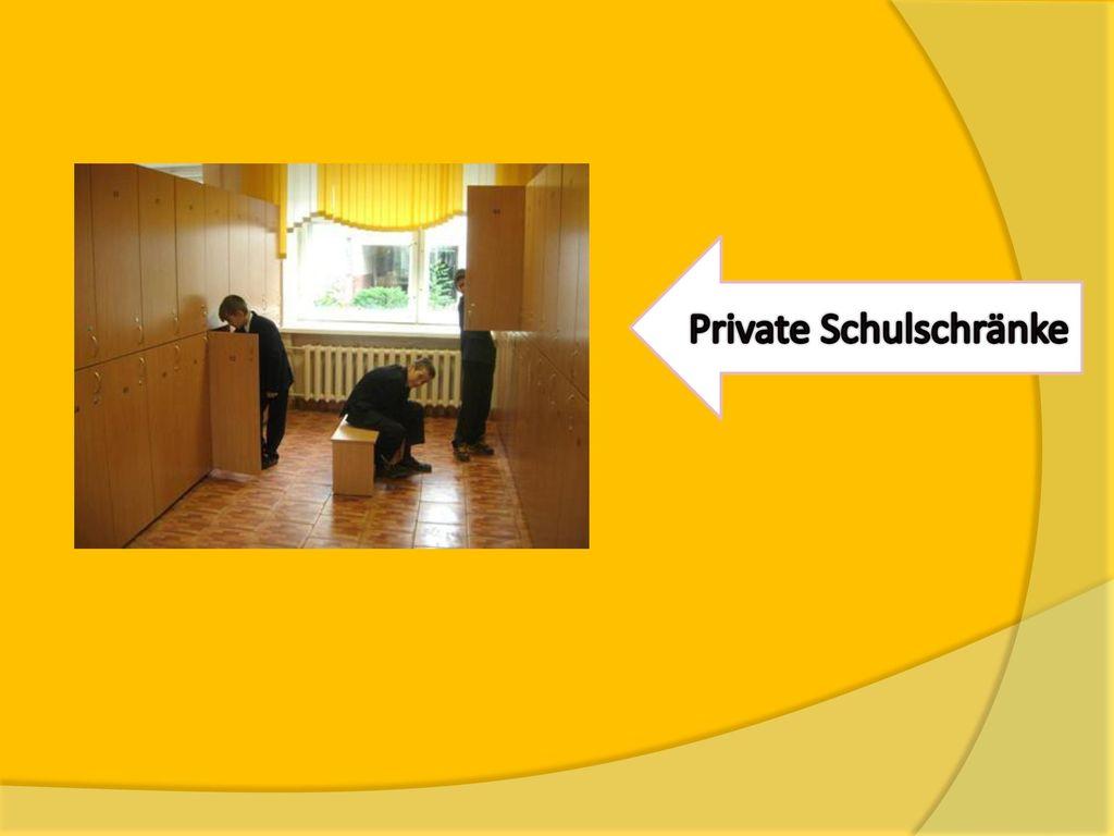 Private Schulschränke
