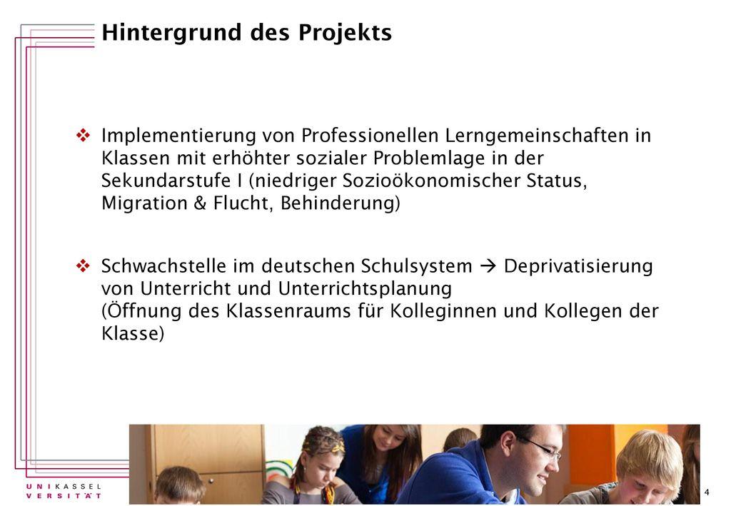 Hintergrund des Projekts