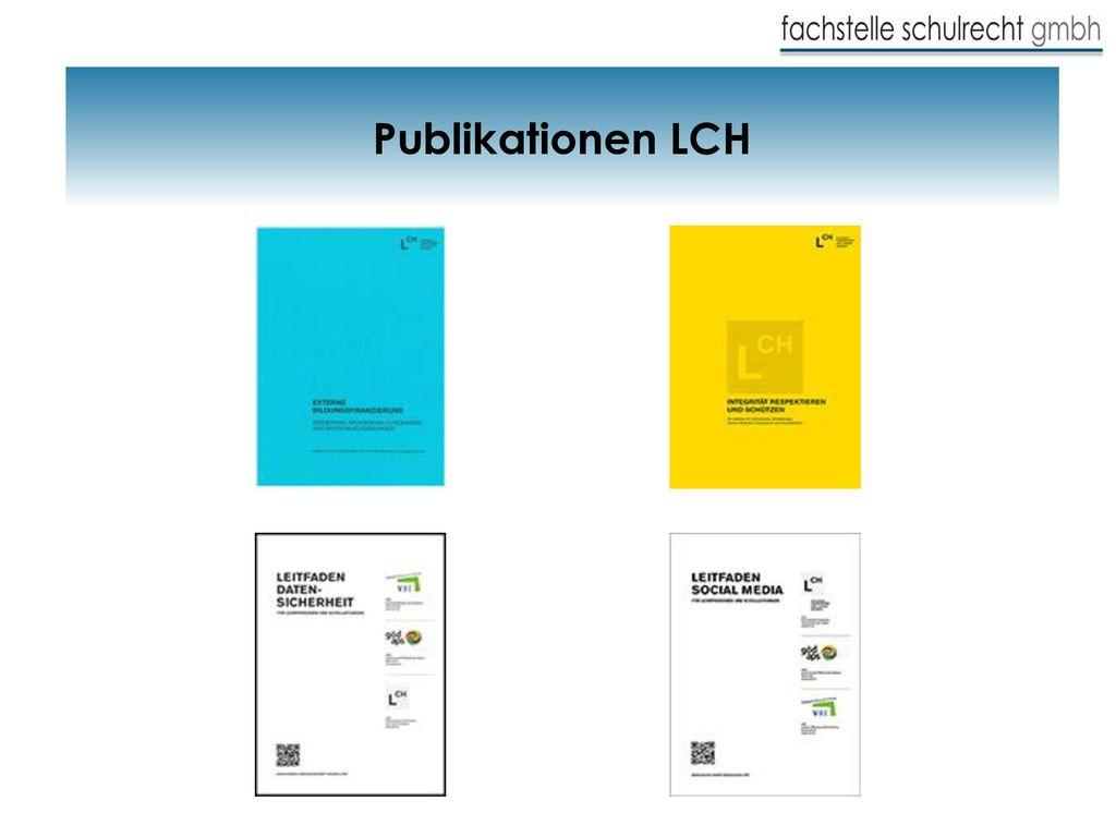 Publikationen LCH