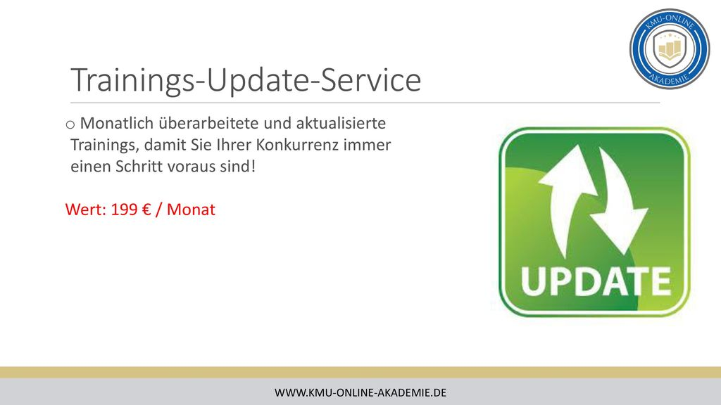 Trainings-Update-Service
