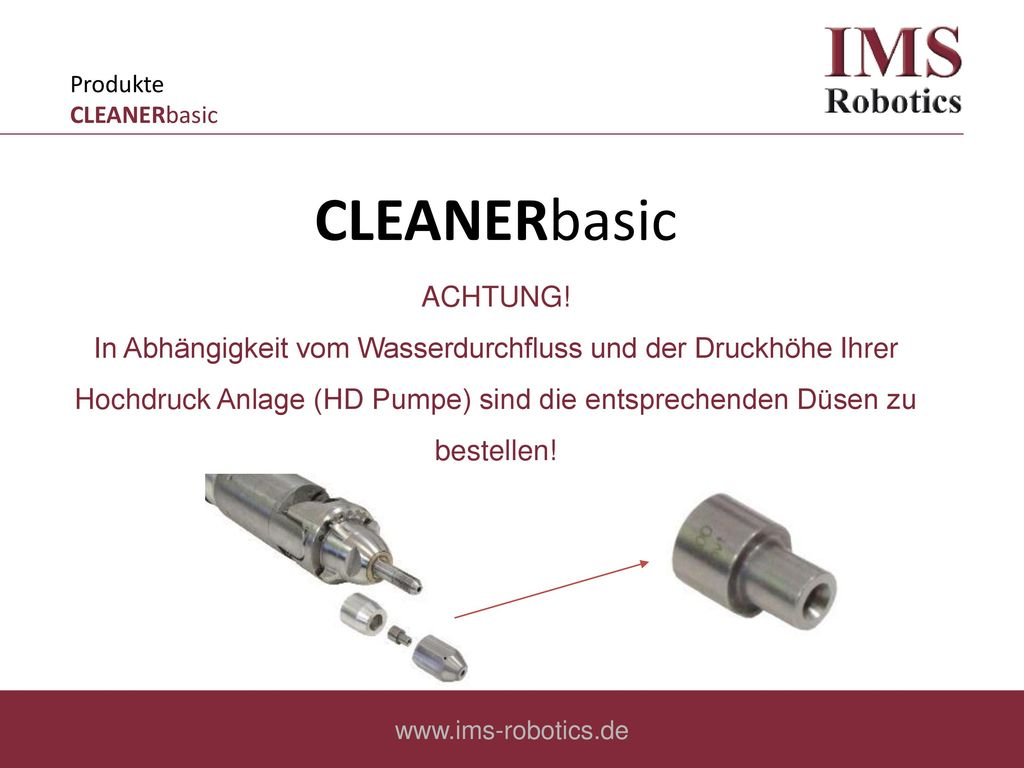 Produkte CLEANERbasic