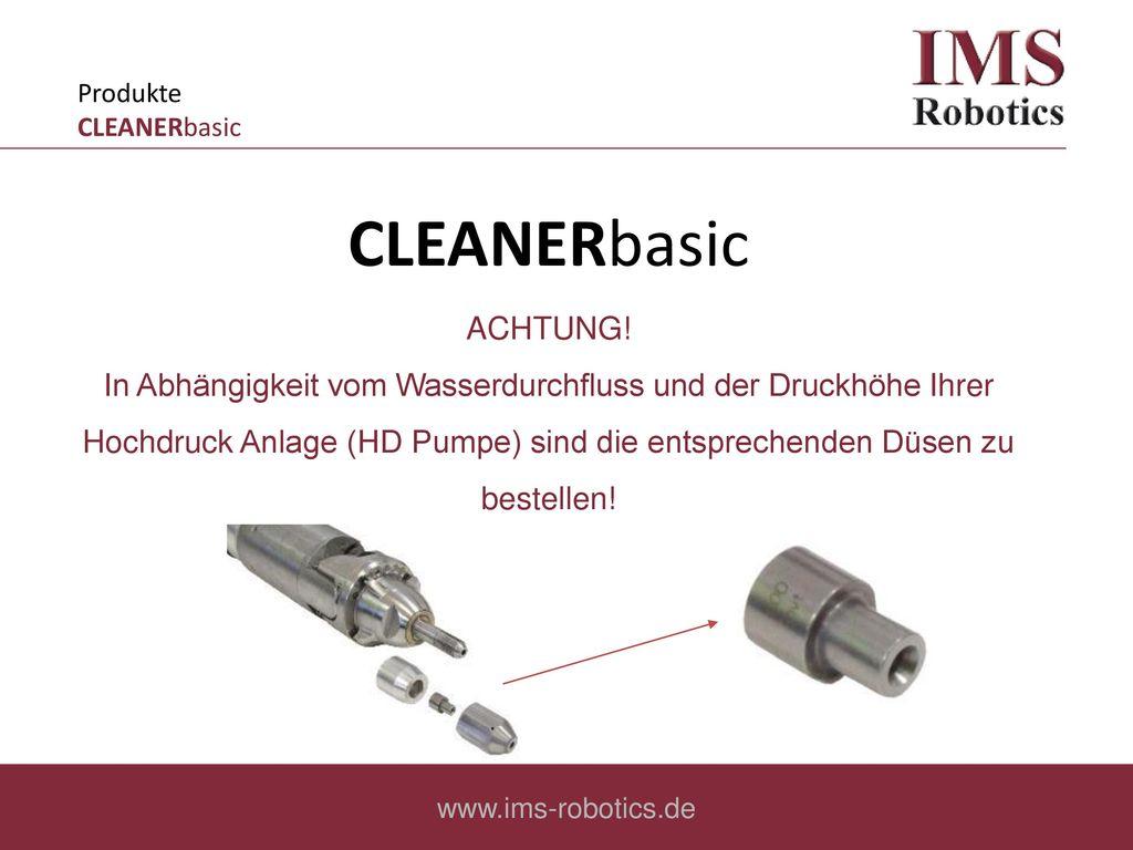 Produkte CLEANERbasic
