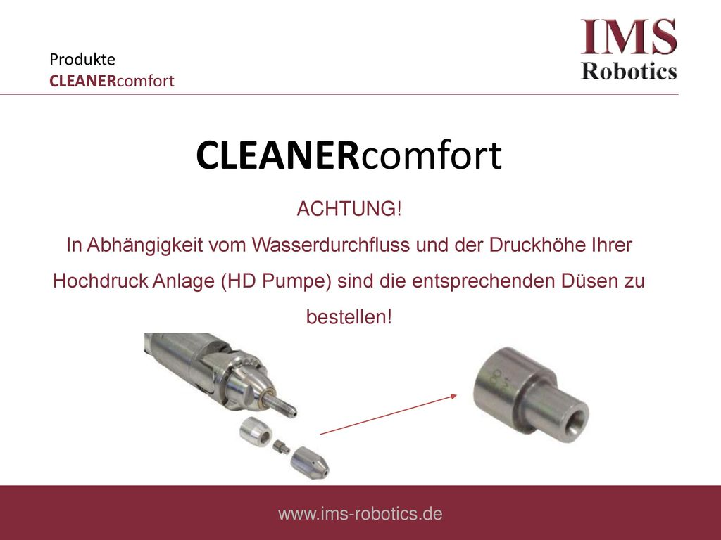 Produkte CLEANERcomfort