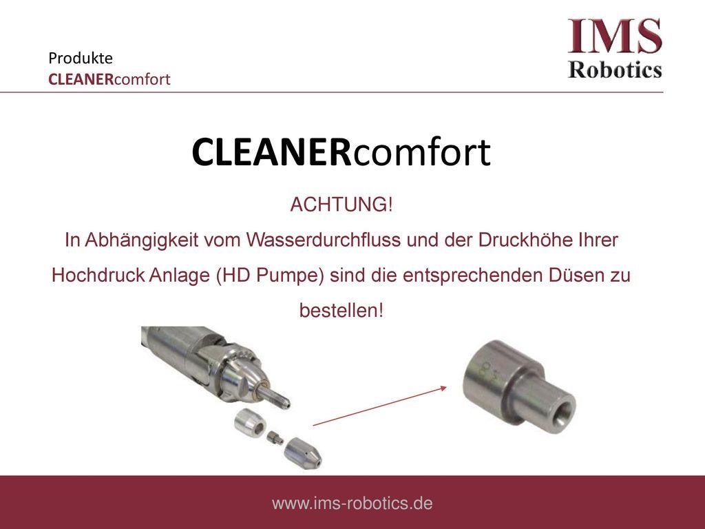 Produkte CLEANERcomfort