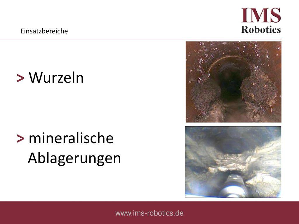 ˃ mineralische Ablagerungen