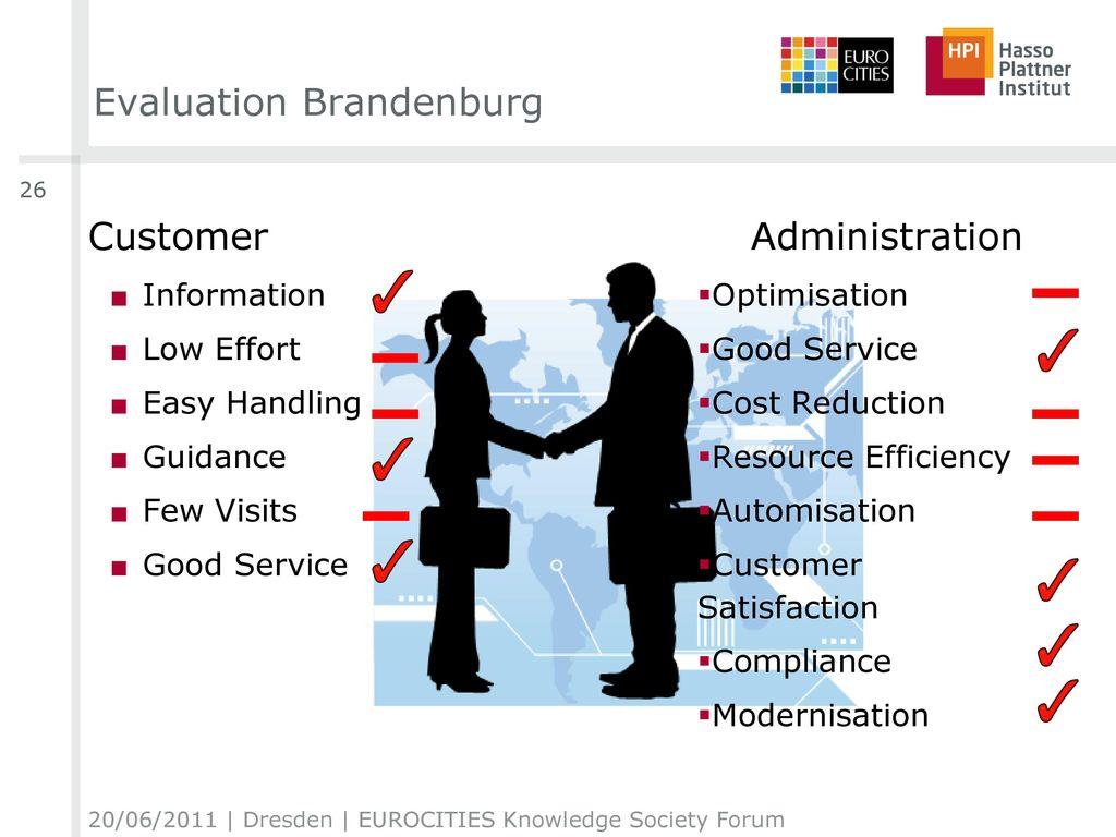 Evaluation Brandenburg