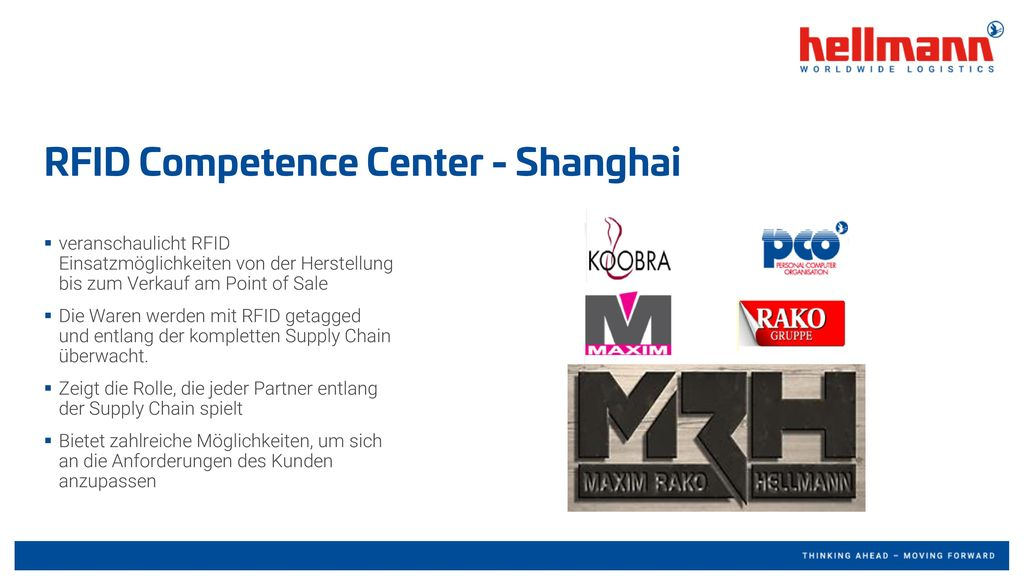 RFID Competence Center - Shanghai