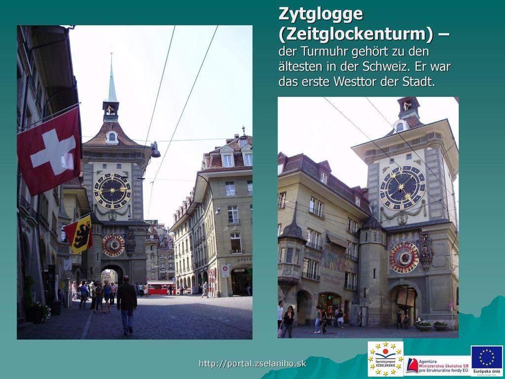 Zytglogge (Zeitglockenturm) –