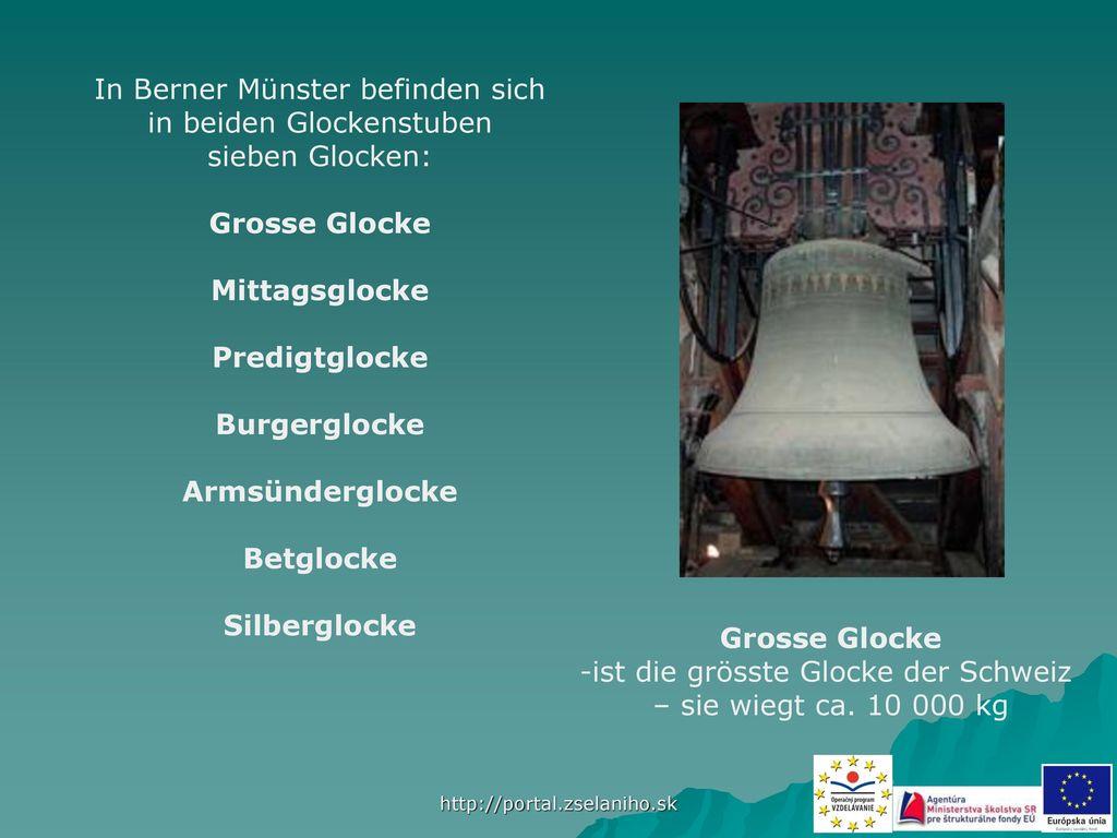 In Berner Münster befinden sich in beiden Glockenstuben