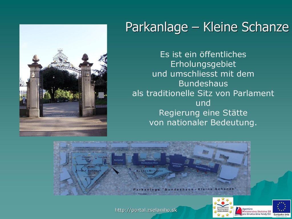 Parkanlage – Kleine Schanze