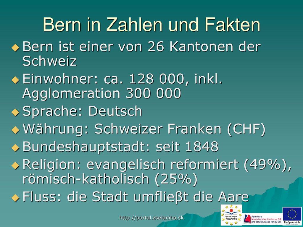Bern in Zahlen und Fakten