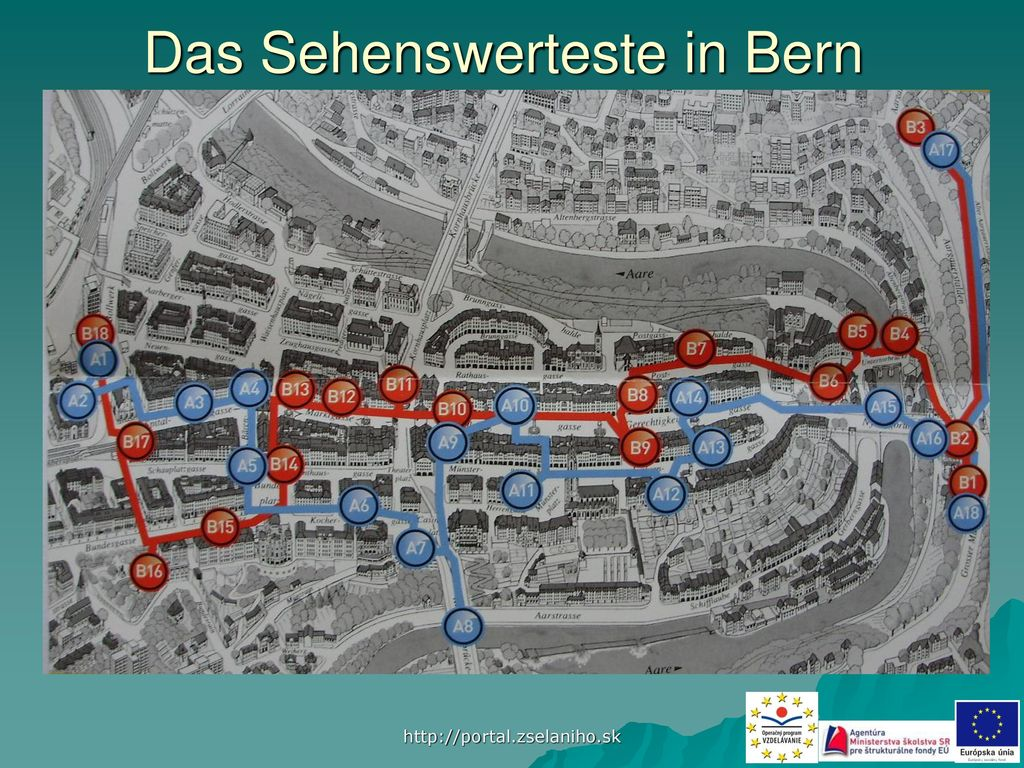 Das Sehenswerteste in Bern