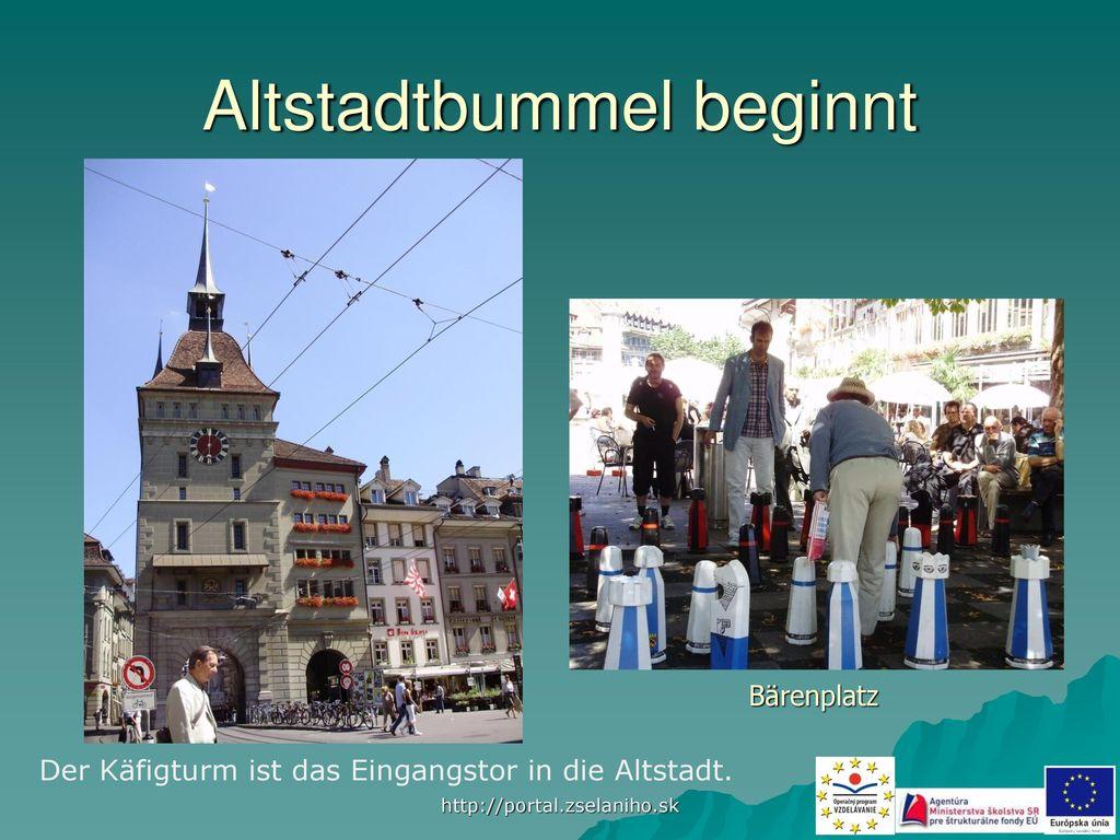 Altstadtbummel beginnt