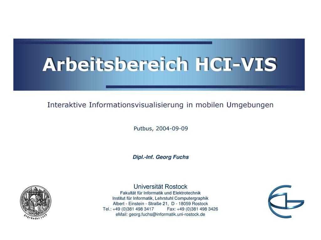 Arbeitsbereich HCI-VIS