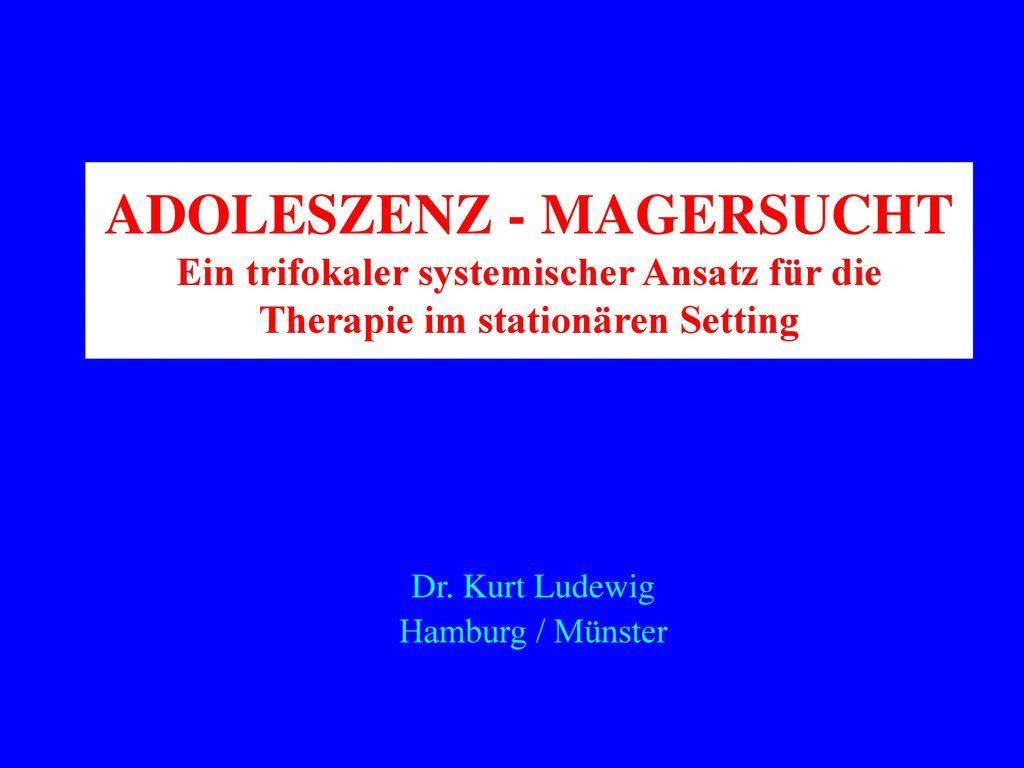 Dr. Kurt Ludewig Hamburg / Münster