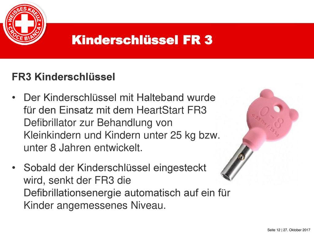 Kinderschlüssel FR 3 FR3 Kinderschlüssel